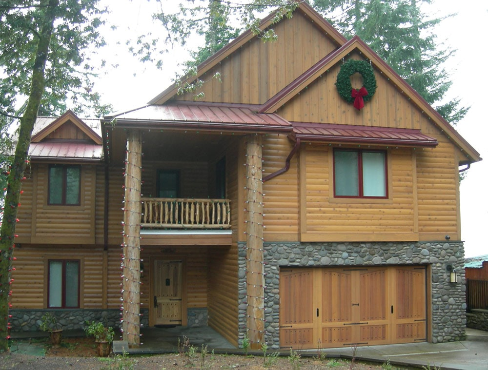 pictures cabins cedar prices with reveal log cabin siding