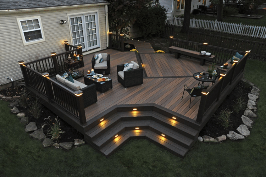 Timber Tech Decking