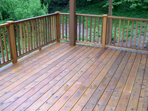 Cedar Decking Lakeside Lumber The Northwest S Premier