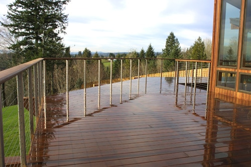 Hardwood Decking Lakeside Lumber The Northwest S Premier