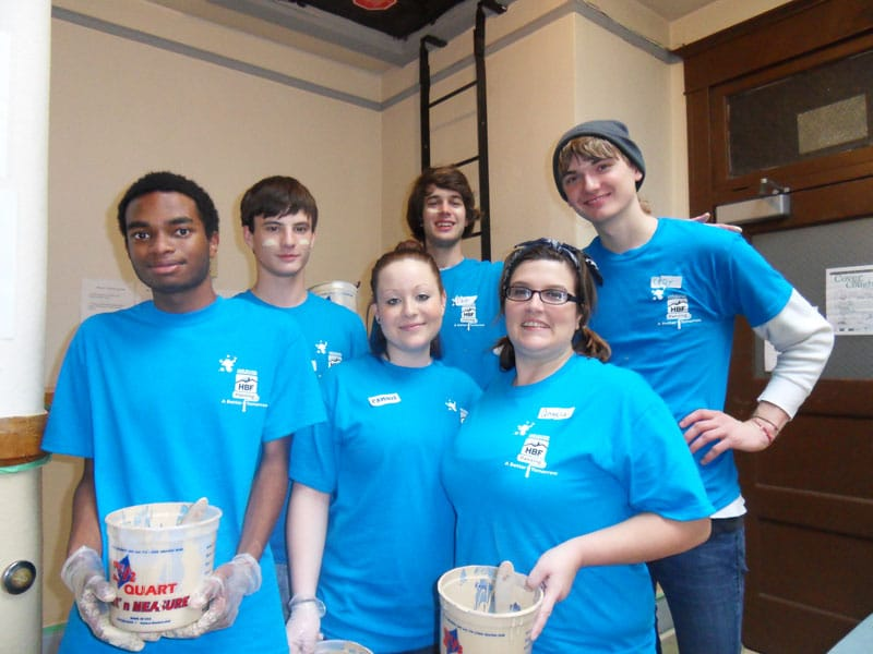 Painting a Better Tomorrow - Home Builders Foundation